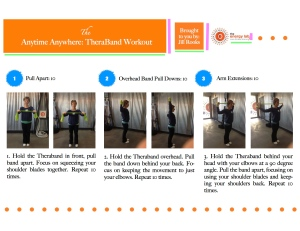 Pintrest theraband workout