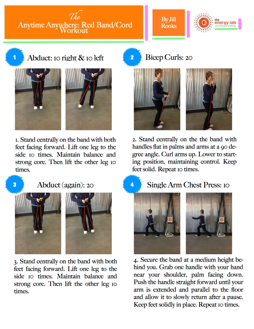 Red Band/Cord Workout